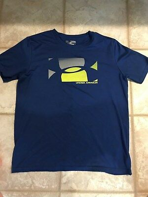 Boys Under Armour Short Sleeve Shirt - Youth Xl - Exc Cond