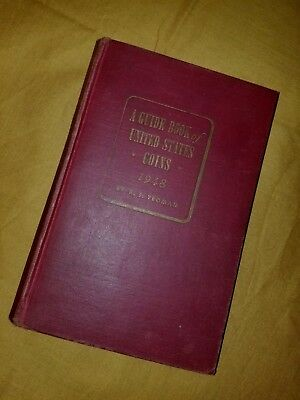 1948 Guide Book of United States Coins Red Book R.S. Yeoman
