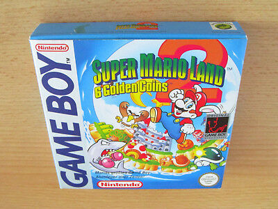 Originalverpackung - Super Mario Land 2: 6 Golden Coins (Deutsch) / Game Boy