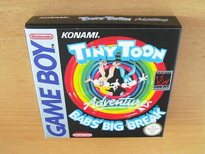 Originalverpackung - Tiny Toon Adventures: Babs' Big Break (Deutsch) / Game Boy