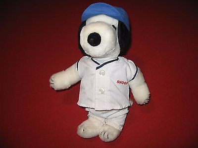 Peanuts/ Snoopy-in-Baseball-Getup-Plush-Doll 11""
