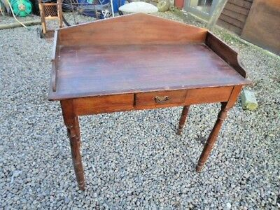 Original Irish Pine Washstand With Drawer Collection West Wales