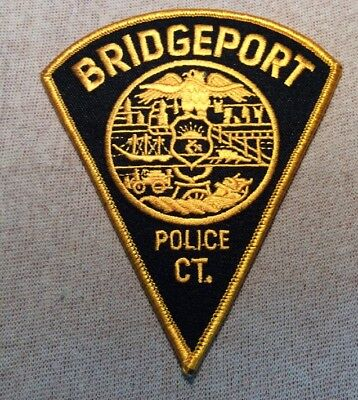 CT Bridgeport Connecticut Police Patch