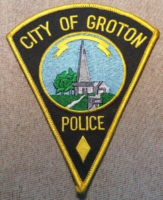 CT City of Groton Connecticut Police Patch