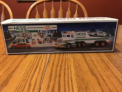 1991 Hess Toy Truck and Racer - NEW IN BOX!!!