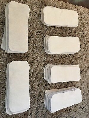 12 GMD inserts, small hemp/cotton doublers cloth diapering