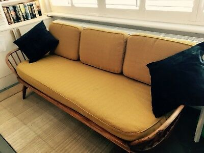 Gorgeous Mid Century modern Ercol Studio Couch Day Bed