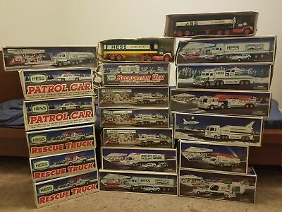 Hess Trucks Lot of 20