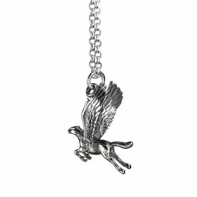 Official Harry Potter Sterling Silver Buckbeak Necklace Pendant - Boxed