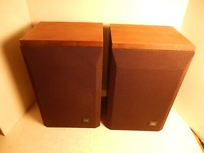 Vintage JBL L15 Stereo Bookshelf Speaker Matching Pair Sounds Great
