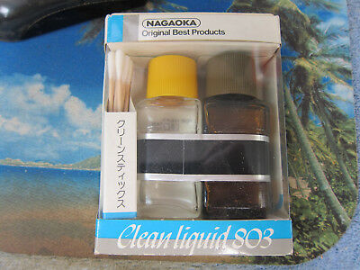NAGAOKA Tape Head Cleaning System, VINTAGE NOS, Japan, Ex Quality
