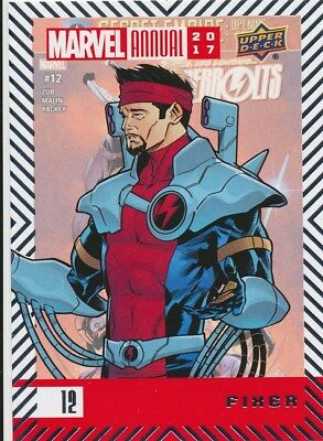#12 FIXER (2018) 2017 Upper Deck Marvel Annual THUNDERBOLTS