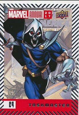 #64 TASKMASTER (2018) 2017 Upper Deck Marvel Annual DEADPOOL AVENGERS