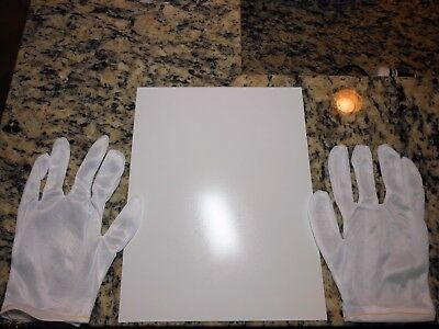 Inkjet vinyl/3M lam-(20 8.5in x 11in sheets) 1 pair graphics production gloves!