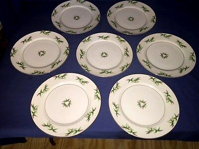 """7 Harmony House MANDARIN 10 1/4"""" Dinner Plates ~ Excellent ~ Discontinued"""