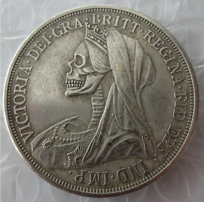 1893 Hobo Great Britain Crown Novelty Coin
