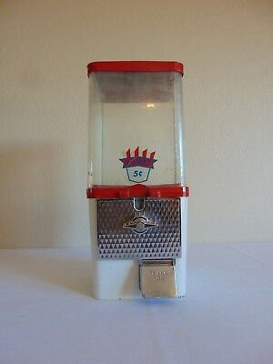 Vintage KOMET 5 Cent Gumball Machine Free Shipping
