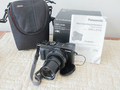 Panasonic Lumix DMC-LX 100, in excellent condition with bag and wrist strap.