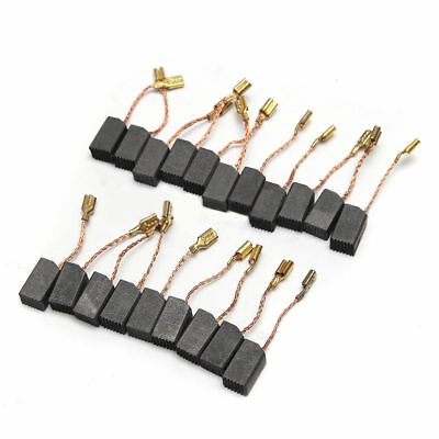For Electric Brushes Set Motor Drill 6mmx8mmx14mm Carbon Angle 20pcs Grinder