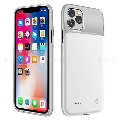 Rechargeable Extended Battery Portable Charging Case Cover for iPhone 11 X XsMax