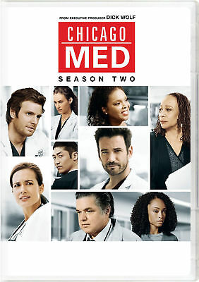 Chicago Med: Season Two (DVD, 2017, 6-Disc Set) USED ONCE!!!!!
