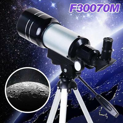 F30070M Monocular Space Astronomic Kepler Telescope with Tripod Kids Xmas G US