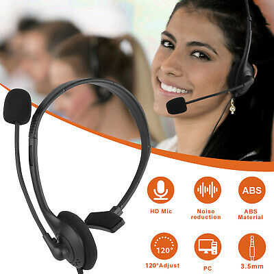 RGB LED 7.1 Gaming Headset Stereo Surround Sound Mic Headphone For PC PS4 Laptop