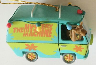 SCOOBY DOO Mystery Machine Van with Shaggy Christmas 2002 Ornament