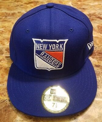 9df47bc7479 ... top quality new era 59fifty ny new york rangers nhl wool fitted hat cap  size 7