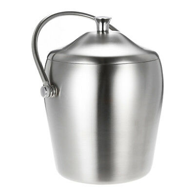 1L Ice Bucket Beer Bottle Cooler Champagne Wine Stainless Steel Party Bar Drink