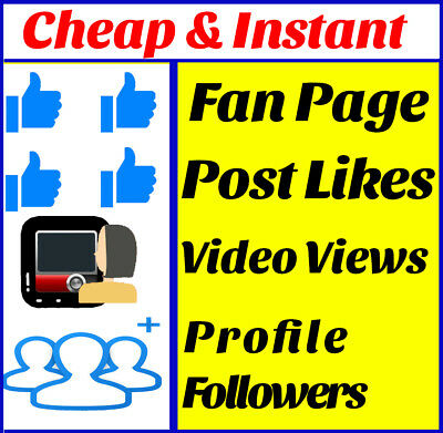 PREMIUM Facebook Services | Page Post Likês | Video Viêws | Followêrs |Commênts
