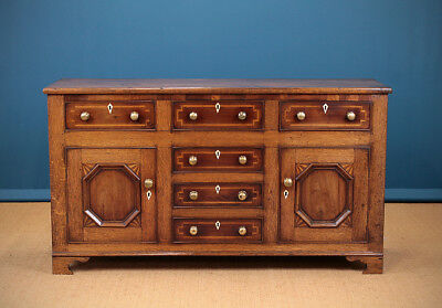 Antique 19th.c. Anglesey Welsh Dresser Base c.1830.