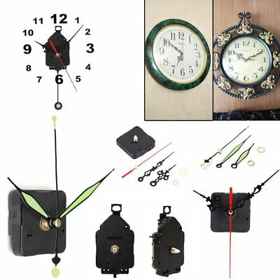 Mute Parts + Hands Pendulum Clock Movement Mechanism Repair Replacement