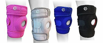 Adjustable Knee Open Patella Knee Stabiliser Brace Knee Support Pain Sport By SC