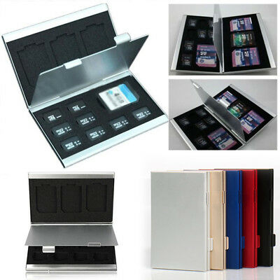Sale Gold Mmc Aluminum Memory Holder Micro Box Card Case Protecter Sd Silver