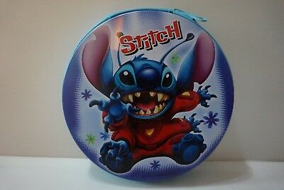 NEW Lilo & Stitch CD VCD DVD PSP UMD Tin Storage Case Holder Hold 20 pcs