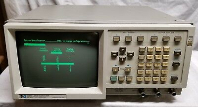 Vintage - HP 1631D - Logic Analyzer - Fires Up - UN-Tested - Great Shape - READ