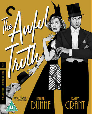 The Awful Truth - The Criterion Collection Blu-Ray (2018) Cary Grant ***NEW***