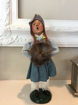 1993 Byers Choice Ltd Victorian Caroler Girl Limited Edition 39/100 Signed