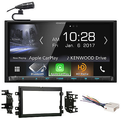 Kenwood DVD Bluetooth Receiver Android/Carplay/Dual USB For 11-15 Ford F-650/750