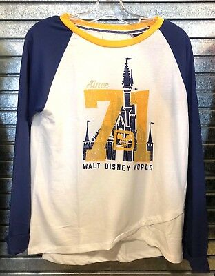 NEW Disney Parks Walt Disney World Since 71 Long Sleeve Shirt
