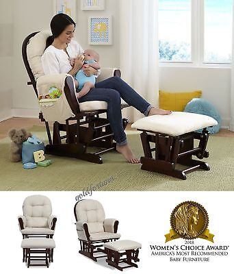 Glider Rocker Chair And Ottoman Baby
