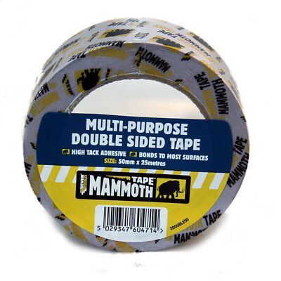 Everbuild Multi Purpose Double Sided Tape 50mm x 25m