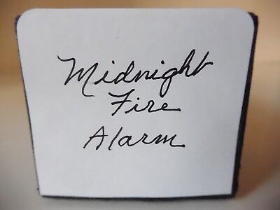 MIDNIGHT FIRE ALARM - EIGHTY EIGHT NOTE Player Piano Roll
