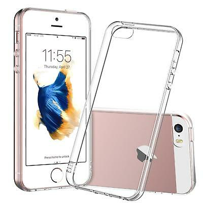 Clear-Soft-Rubber-TPU-Cover-Case-for-iPhone-SE-5-5S-5C