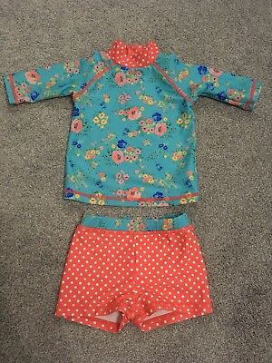 9-12 Month Mini Club Sunsuit / Swimsuit