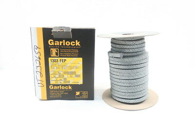 New Garlock 1303 FEP 41413-7024 3/8in 5lb Compression Pump Packing