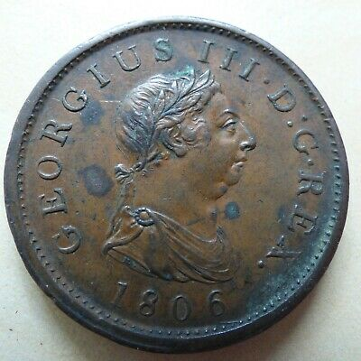 Milled 1816-1837 George IV William George III 1 One Penny Coin Choose Yours