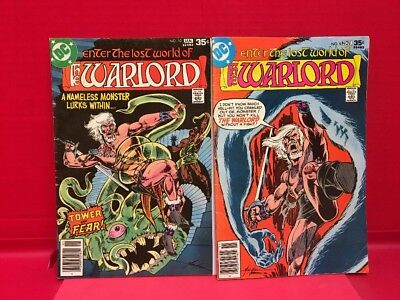 Enter The Lost World Of The Warlord #9 #10 Lot  of 2 DC Comics