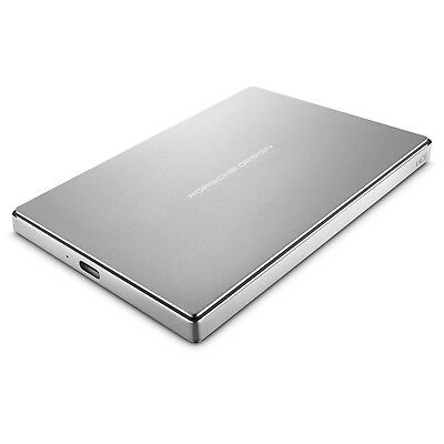 LaCie Porsche Design 2TB USB-C Mobile Style 5 Gb/s Speed External Hard Drive